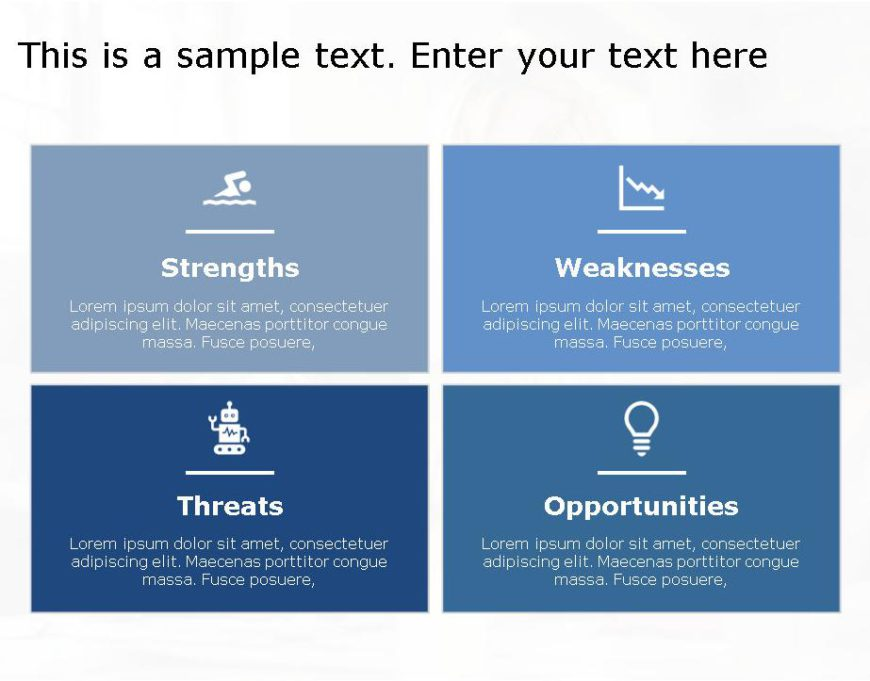 SWOT PowerPoint Template for business use -26h