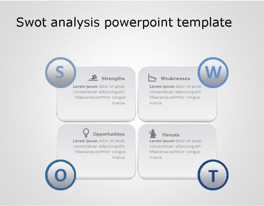 SWOT PowerPoint Template for business use -29h
