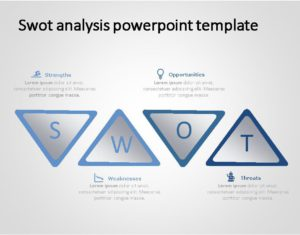 SWOT PowerPoint Template for business use -30h