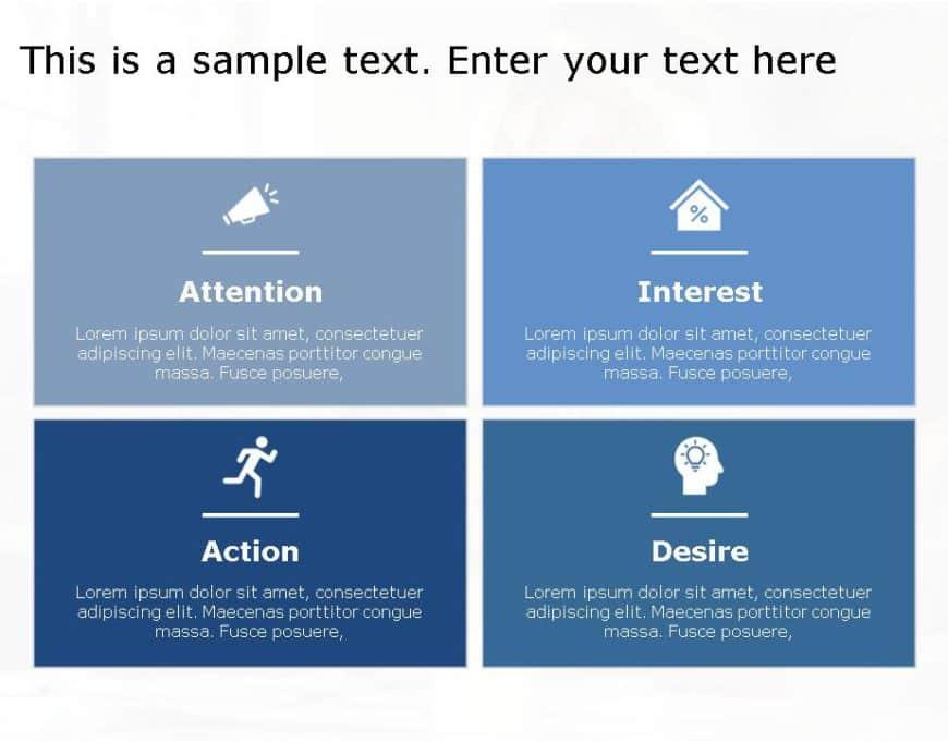 AIDA Marketing Framework for business use ,25k