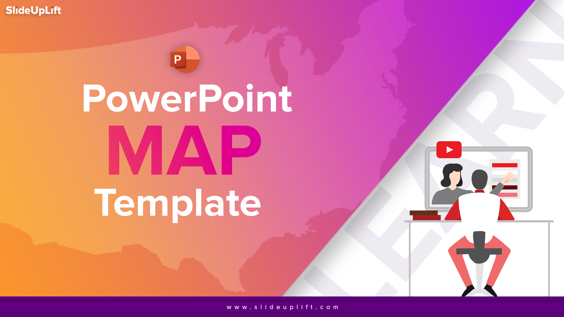Learn How To Use PowerPoint Map Templates In Your Business Presentations