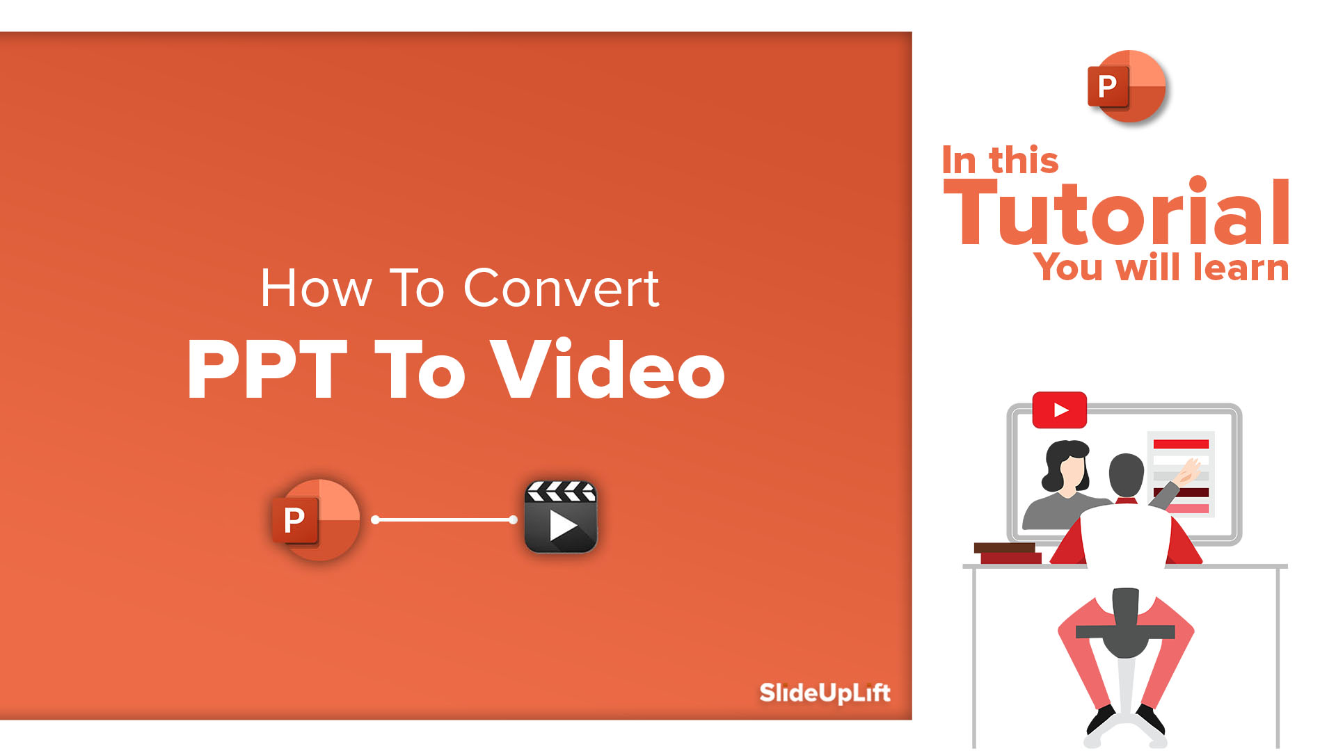 How To Convert PPT To Video | Presentation To Video