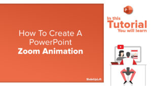 How to create a PowerPoint Zoom Animation | Grow/Shrink Animation Zoom Effect