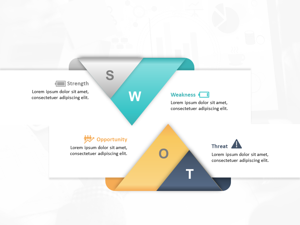 PowerPoint Template for Personal SWOT Analysis