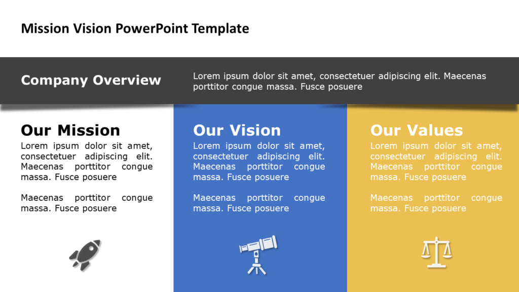 Mission Vision Statement Example