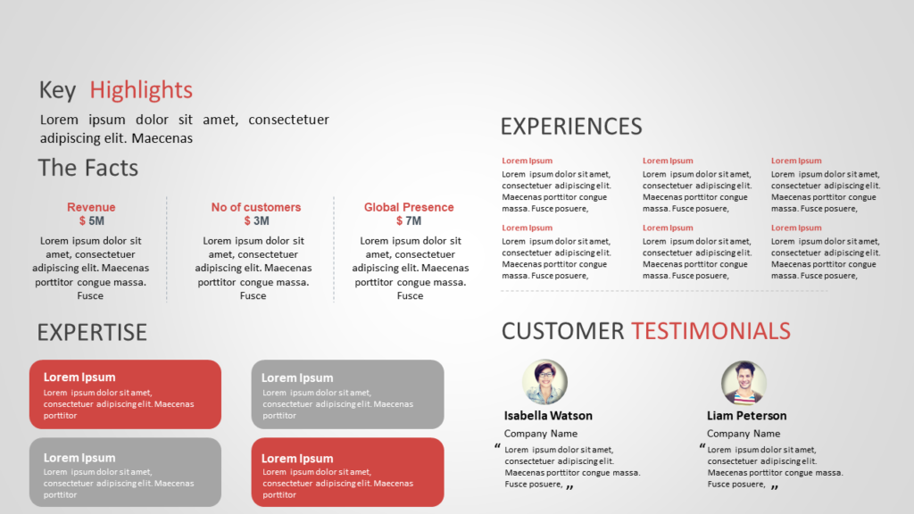 Business Proposal Summary PowerPoint
