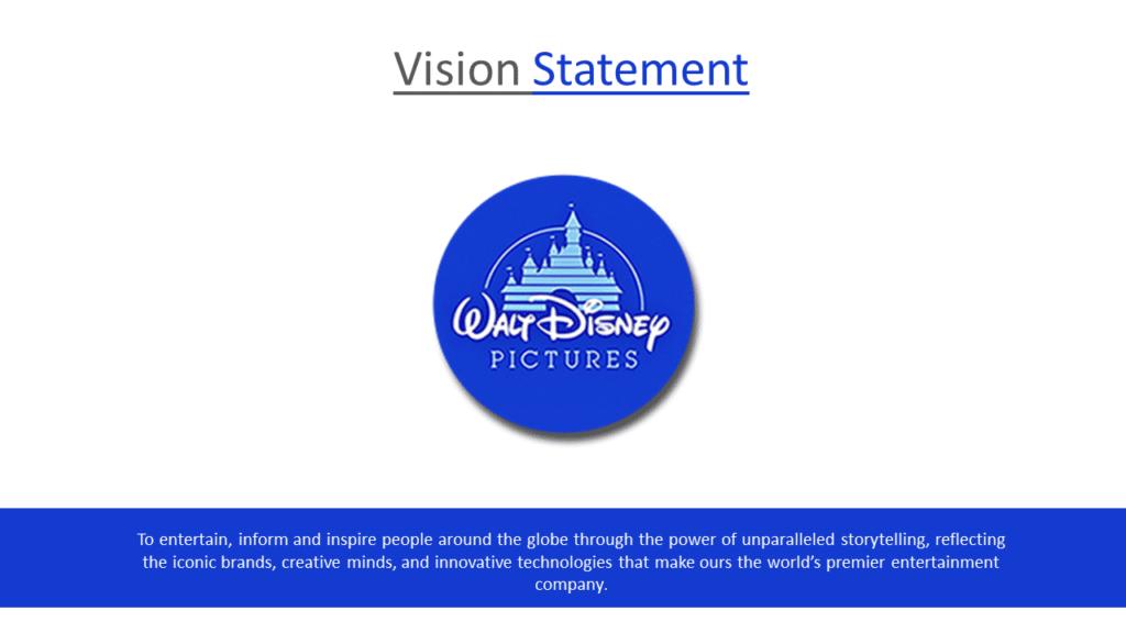 Disney vision statement