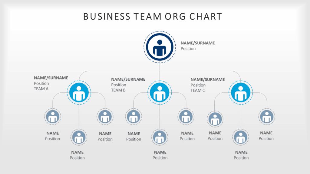Business Team Org Chart