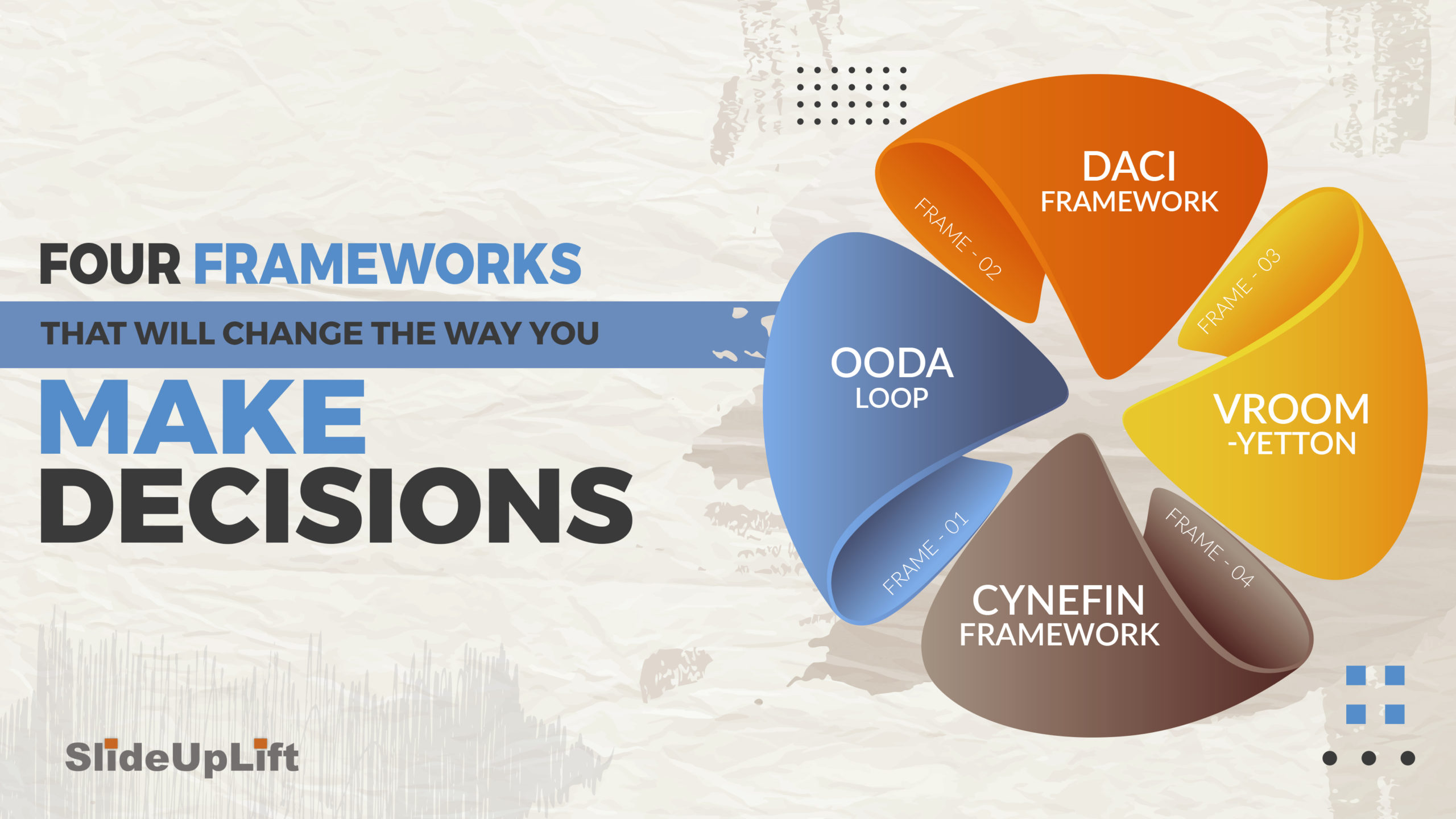 4 Decision Frameworks That Will Change The Way You Make Decisions