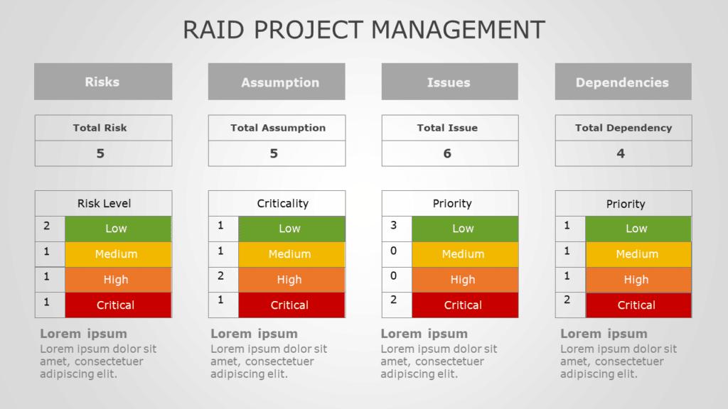 Raid Project Management