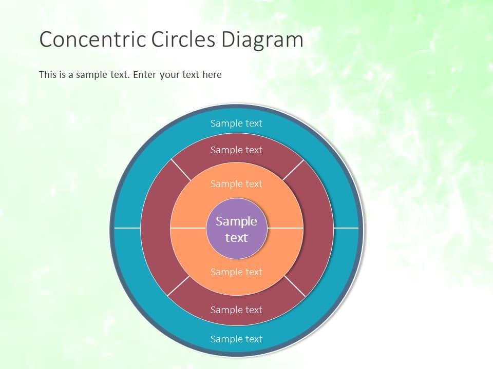 Concentric circles diagram template slideuplift concentric circles diagram template ccuart Images