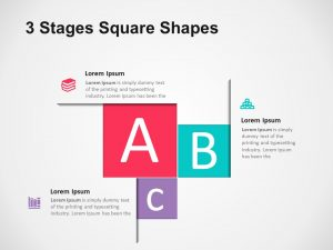 3 Stages Square Shapes