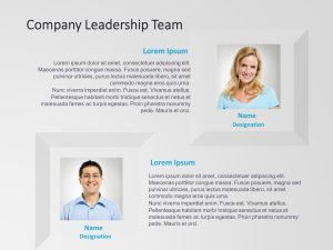 Company Leadership Team Powerpoint Template