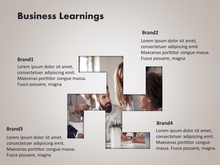 Business Learnings Powerpoint Template