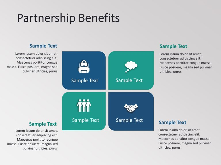 Partnership Benefits Powerpoint Template