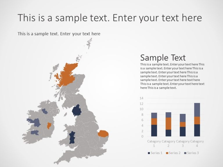 United Kingdom Map PowerPoint Template 2