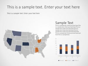 USA Map PowerPoint Template 2