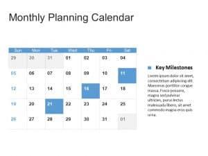 Calendar PowerPoint Template 1