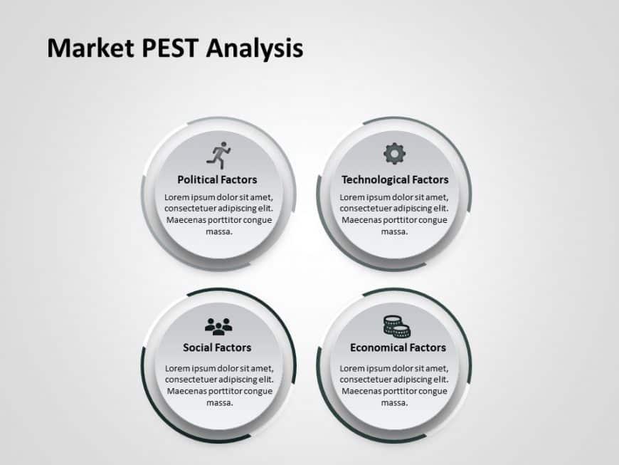 Market PEST Analysis PowerPoint Template 6