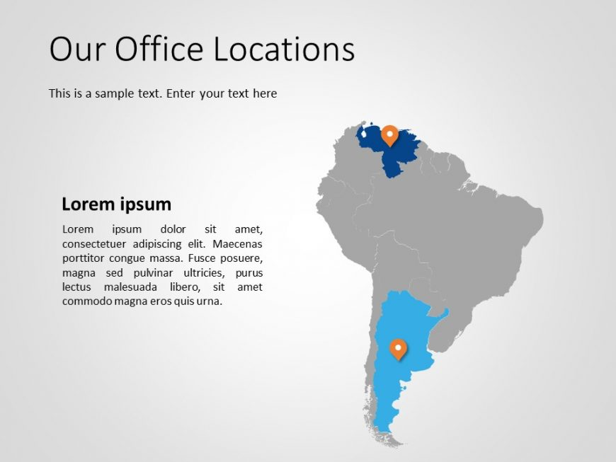 South America PowerPoint Template 2