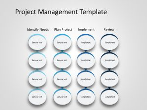 Project Management Powerpoint Template 1