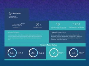 Project Dashboard PowerPoint 6