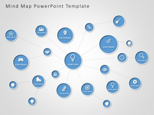 Mind Map PowerPoint Template 8