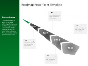 Business Roadmap PowerPoint Template 20