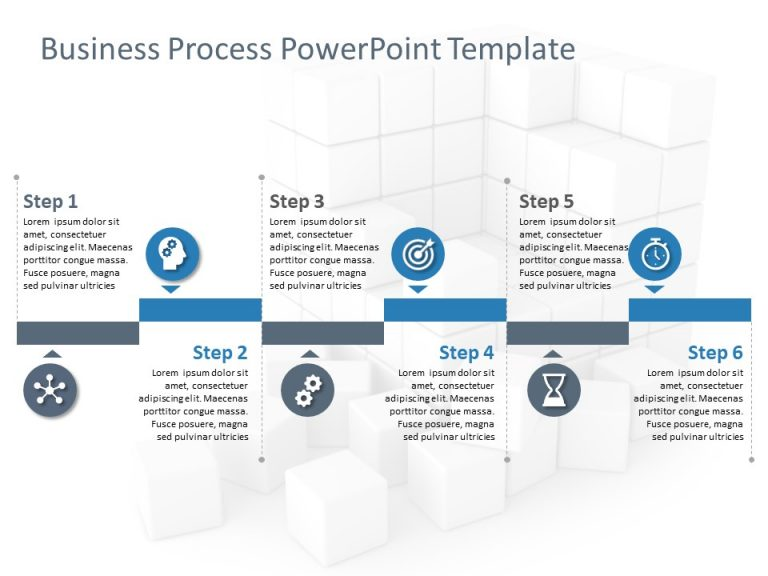 Business Process PowerPoint Template 6