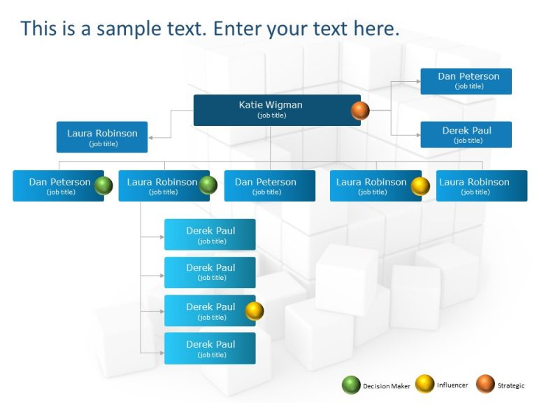Org Chart PowerPoint Template 20