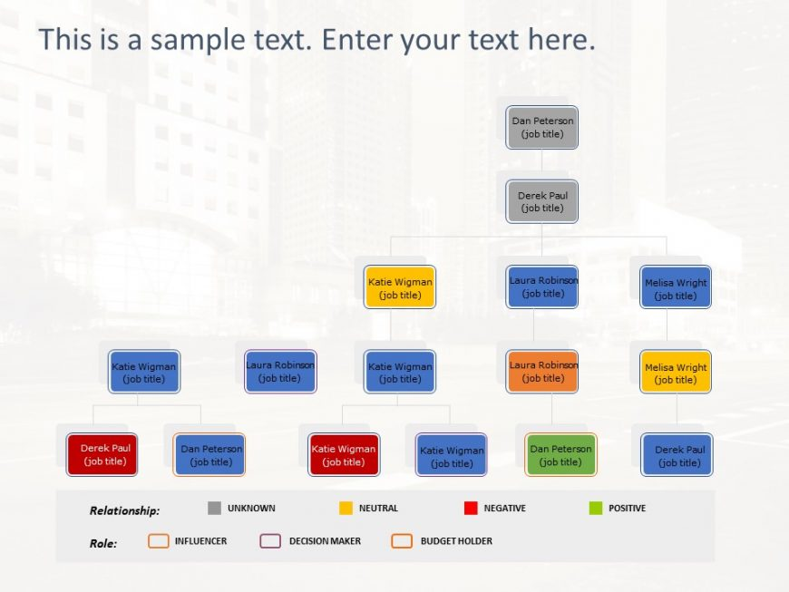 Org Chart PowerPoint Template 21