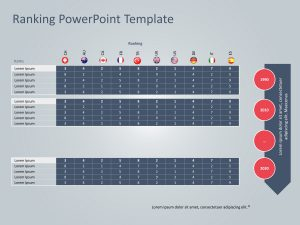 Ranking PowerPoint Template