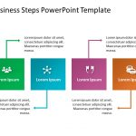 Business Steps PowerPoint Template 6