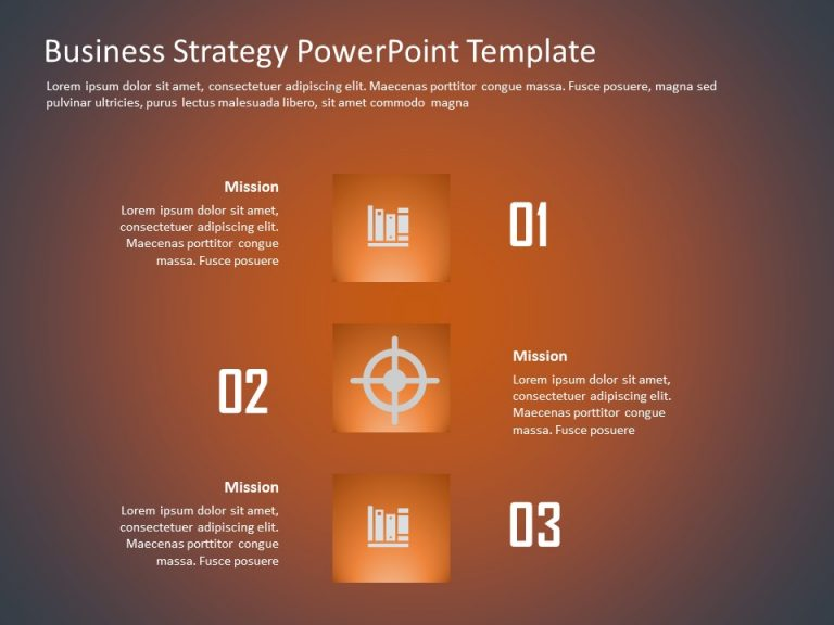 Business Strategy PowerPoint Template 12