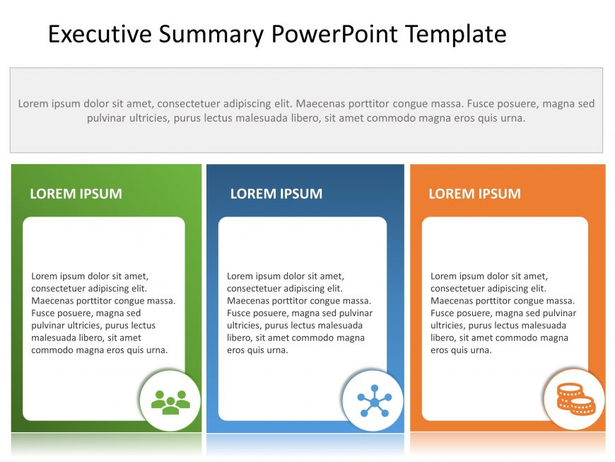 Free Executive Summary PowerPoint Template