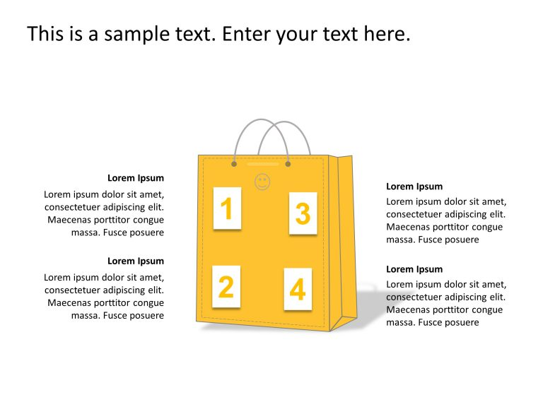Consumer Shopping PowerPoint Template