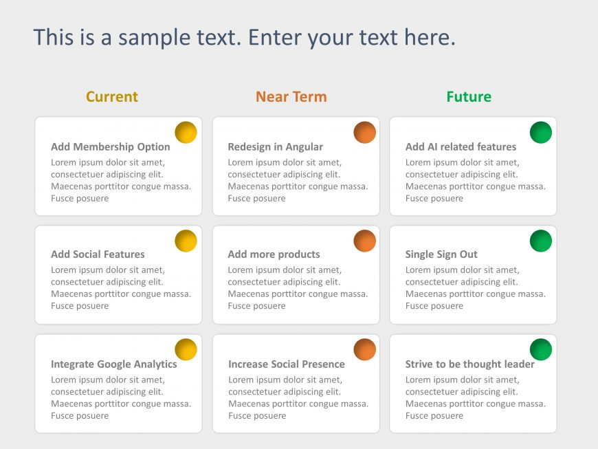 Product RoadMap PowerPoint Template 14