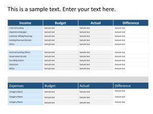 Expense Tracking PowerPoint Template