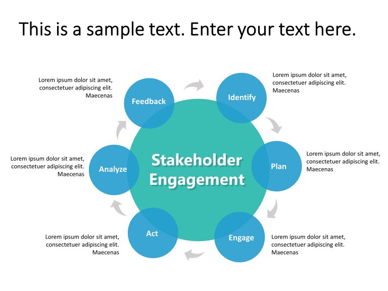 Stakeholder Engagement PowerPoint Template