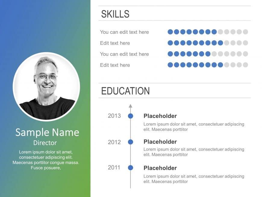 Employee Resume PowerPoint 7