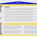 Business Strategy Pillars PowerPoint Template