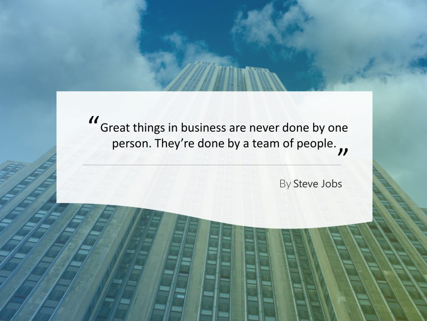 Business Quotes PowerPoint Template