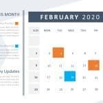 Calendar PowerPoint 2020