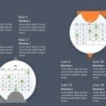 Calendar PowerPoint Template 2020