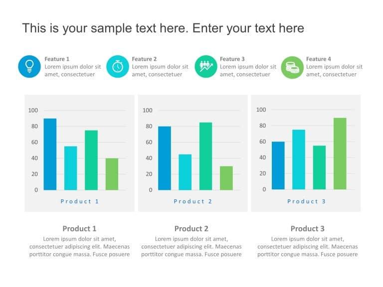 Product Comparison Graphs
