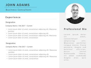 Resume PowerPoint Template Professional 2