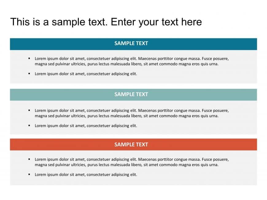 Box List PowerPoint Template 15