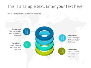 Infographic Cylinder Shapes Template