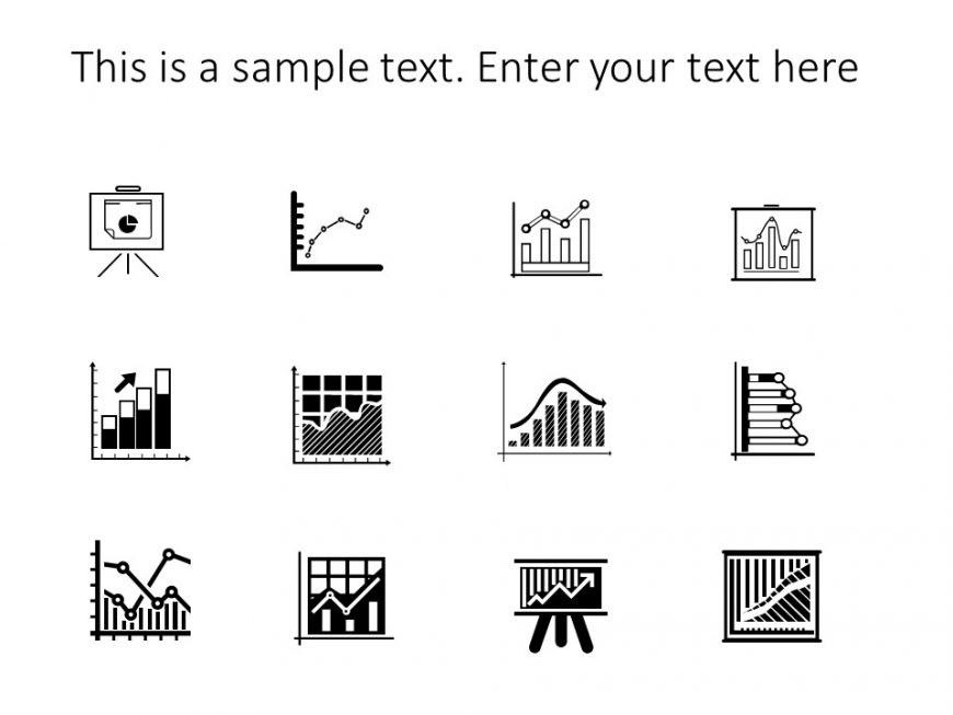 Data charts Powerpoint Icons