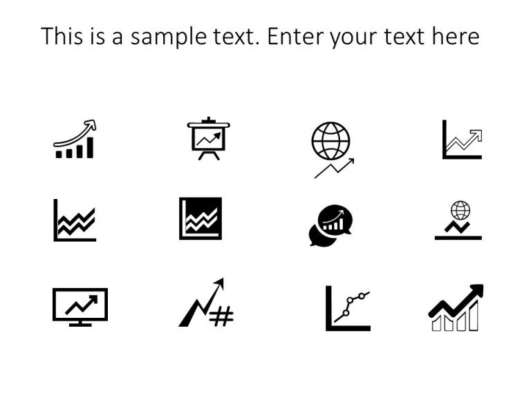 Growth Arrows Powerpoint Icons
